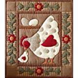 "Spotty Hen Quilt Kit-13""X15""by Rachel's Of Greenfield"