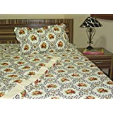 100% Cotton Single Bed Sheet Set (1 Sheet And 1 Pillow Cover) - B0133EW1RY