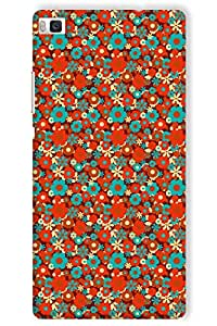 IndiaRangDe Hard Back Cover FOR Huawei P8