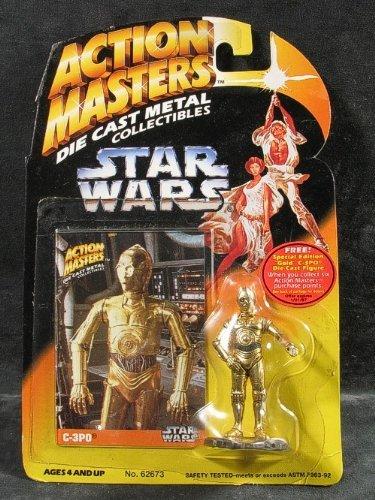 Star Wars Action Masters Die Cast C-3p0