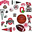 Roommates Rmk1111scs Ohio State University Peel Stick Wall Decals by RoomMates