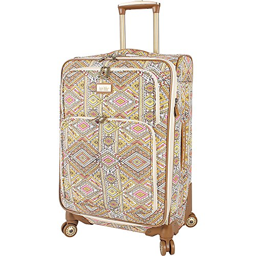 nicole-miller-ny-luggage-sedona-28-expandable-spinner-yellow