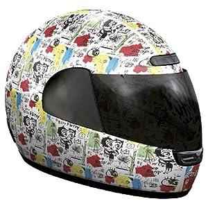 Betty boob motorcycle helmet