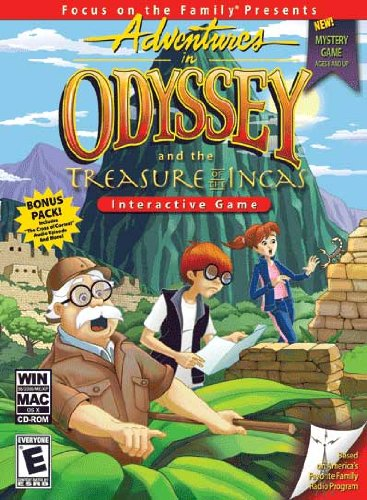 CHRISTIAN COMPUTER GAMES Adventures in Odyssey and the Treasure of the Incas