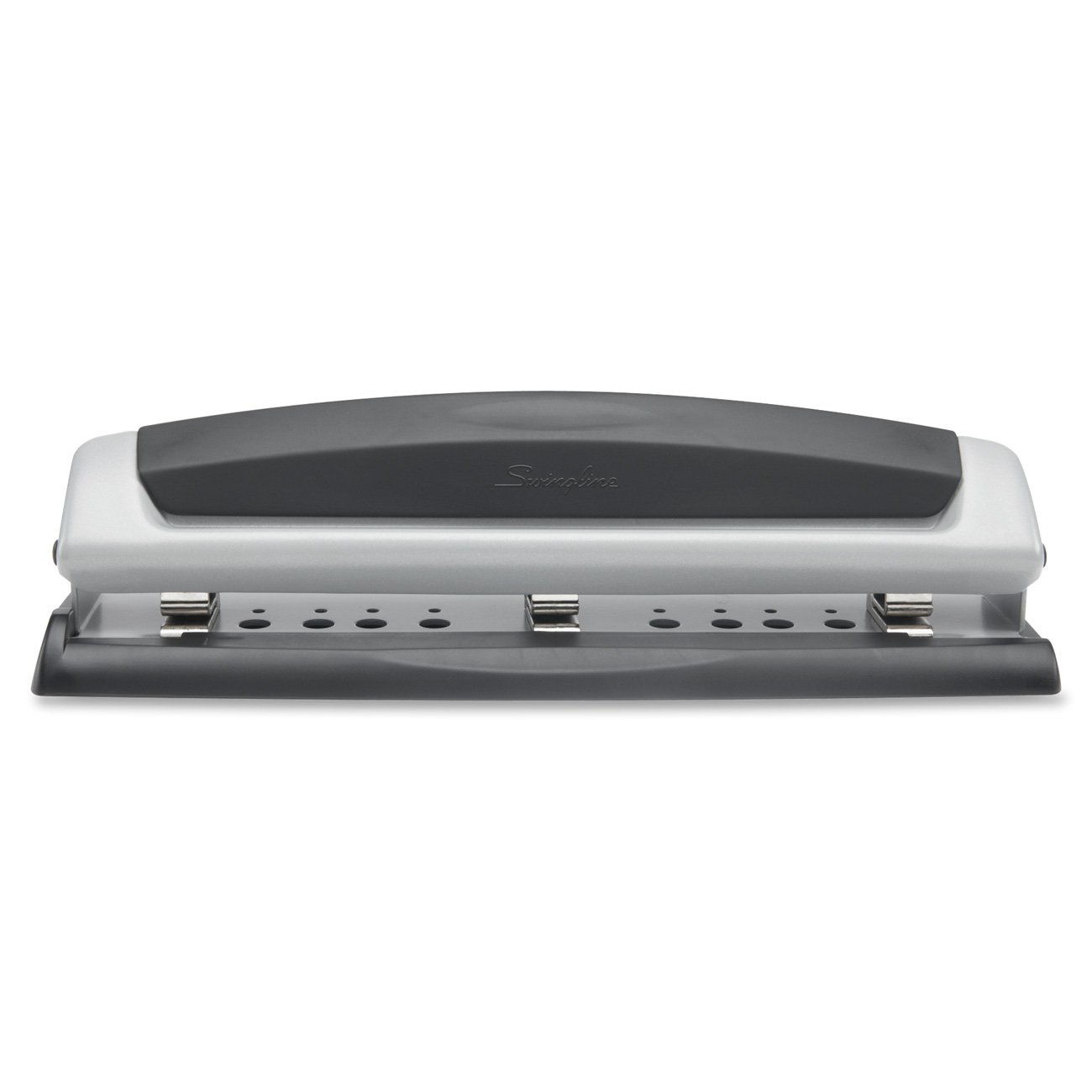 Swingline Precision Pro Black and Silver Desktop Paper Punch ($6.86)