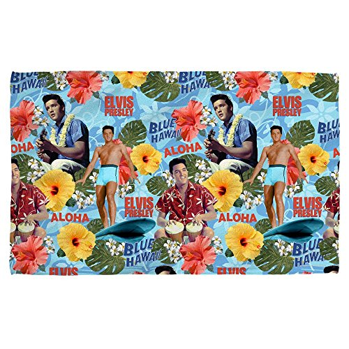 Elvis - Blue Hawaii Beach Towel