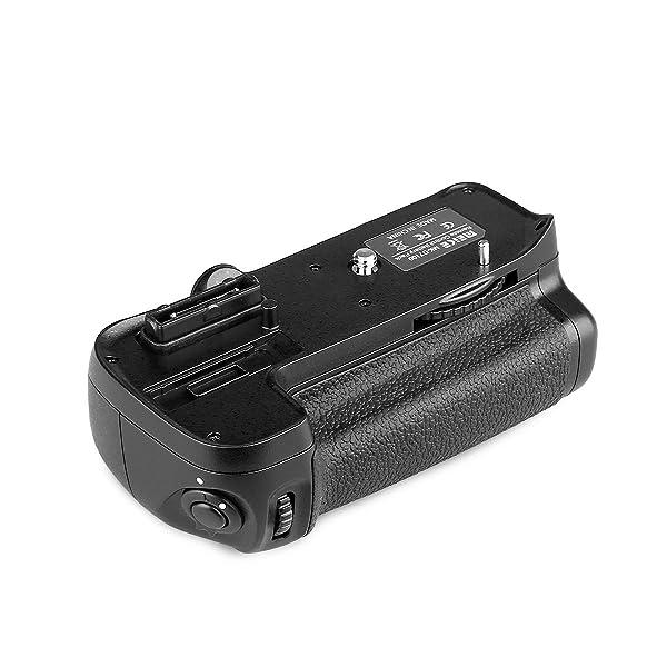 MEIKE MK-D7100 PAQUETE DE ENERGÍA DE DISPARO VERTICAL - Empuñadura de la batería Reemplazo de MB-D15 para la cámara réflex digital Nikon D7100 con EN-EL15 y batería AA