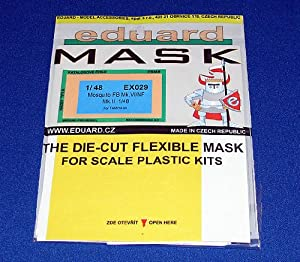 Eduard Models Mosquito FB Mk.VI/NF Mk.II Express Mask (For 1/48 Scale Tamiya kit)