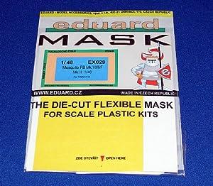 Eduard Models Mosquito FB Mk.VI/NF Mk.II Express Mask (For 1/48 Scale Tamiya kit)