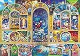 500ピース ジグソーパズル ステンドアート ディズニーオールキャラクタードリーム ぎゅっとシリーズ(25x36cm)