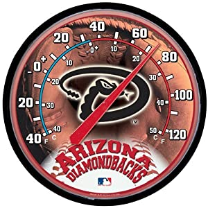 Arizona Diamondbacks Round Wall Thermometer by WinCraft