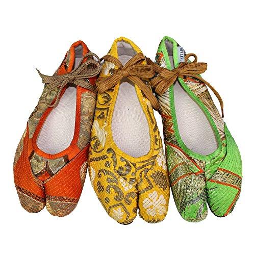 ikitabi by TRAZITA-Ballerina giapponese Obi, (Multicolore), 39 EU