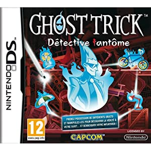 Ghost Trick jaquette