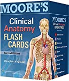 img - for Moore's Clinical Anatomy Flash Cards book / textbook / text book