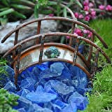 Miniature Fairy Garden Mini Bridge, Rustic