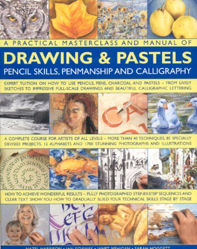 A Practical Masterclass & Manual of Drawing & Pastels, Pencil Skills, Penmanship & Calligraphy: A Complete Course For Artists Of All Levels - More ... 2000 Stunning Colour Photographs And Artworks