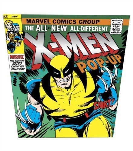 X-Men Pop-Up (Marvel True Believers Retro Character Collection) by Marvel Characters, Inc. (2007) Hardcover