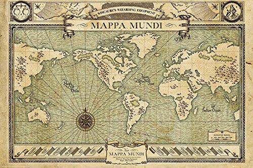 poster-fantastic-beast-and-where-to-find-them-mappa-mundi-915cm-x-61cm-un-joli-emballage-cadeau