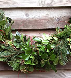 Tregothnan Christmas Luxury Foliage Garland 10 39 Amazon
