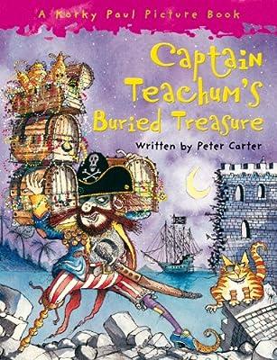 Captain-Teachums-Buried-Treasure-Carter-Peter-Used-Very-Good-Book