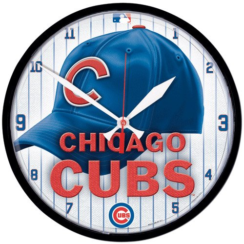 Chicago Cubs MLB Round Wall Clock at Amazon.com