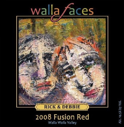 2008 Walla Faces Fusion Red Blend 750 Ml