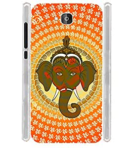 Pattern Ganesha OM Soft Silicon Rubberized Back Case Cover for Huawei Honor Holly 2 Plus :: Honor Holly 2+