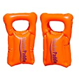 FloaterPaddle Inflatable Swim Hand Paddles for Swim Training, Floating, and Water Fun!