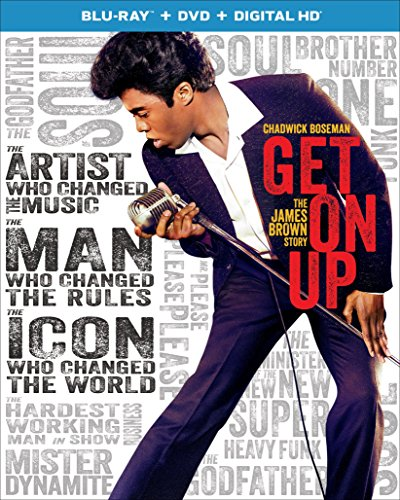 Blu-ray : Get on Up (Ultraviolet Digital Copy, 2 Pack, Snap Case, Slipsleeve Packaging, Digitally Mastered in HD)