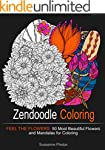 Zendoodle Coloring: Feel the Flowers:...