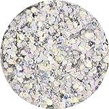 ラメホロ ミックス [ラメ&ホログラム1mm]mix 選べる12色 (10.シルバー)