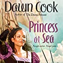 Princess at Sea: Princess, Book 2 Audiobook by Dawn Cook (as Kim Harrison) Narrated by Marguerite Gavin
