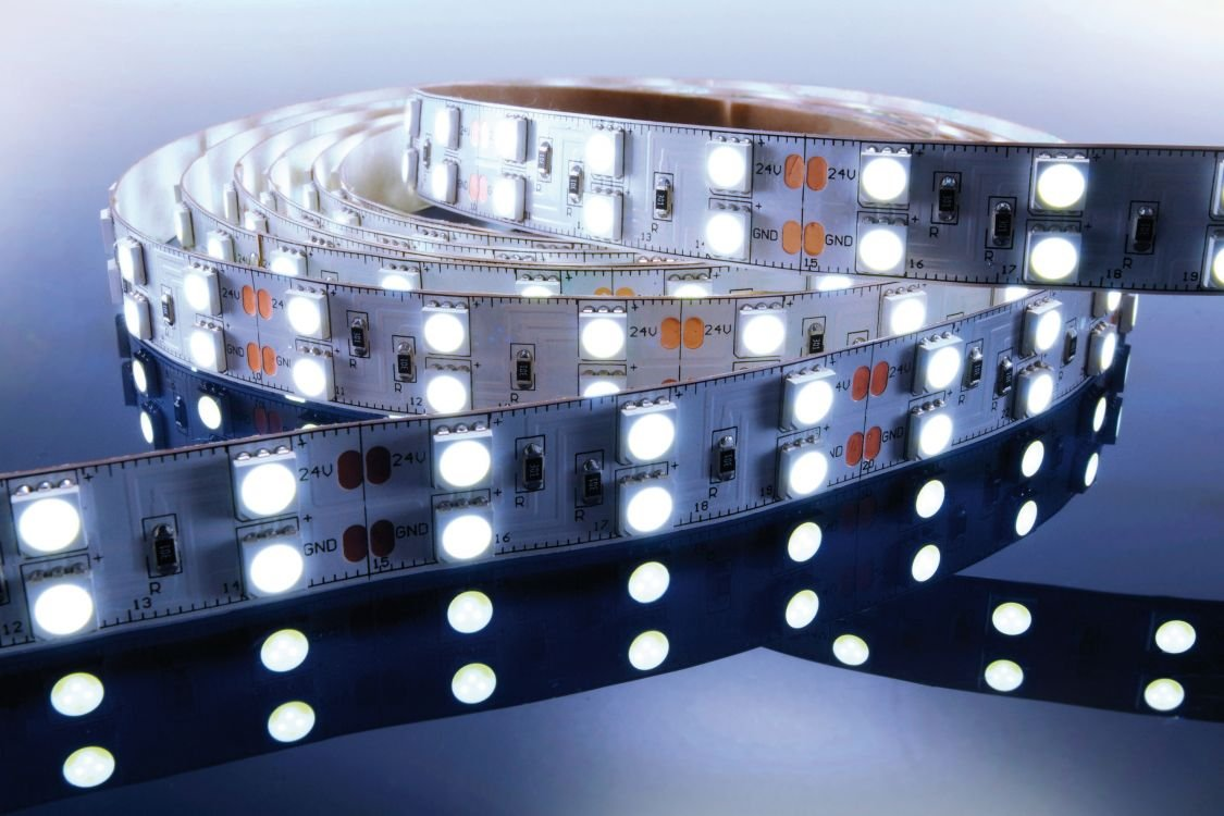 KapegoLED Flexibler LED Stripe, 5050, SMD, 24 V DC, 86,40 W, kaltweiß 840063