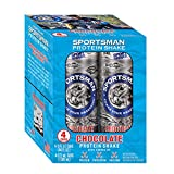 Sportsman Chocolate Protein Shake, 11 Ounce Cans (Pack of 4) for Fishermen