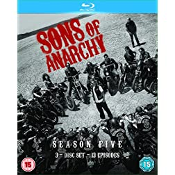 Sons of Anarchy-Season 5 [Blu-ray]