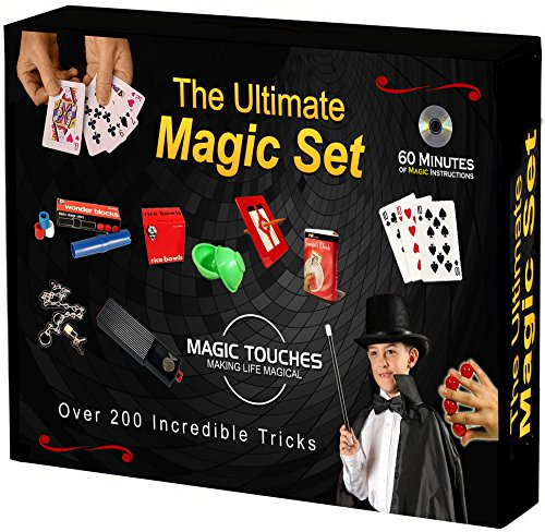 The Ultimate Magic Tricks Set for Kids and Grownups Alike - Over 200 Magic Tricks Revealed  -60 Minute Magic Tricks DVD Tutorialsic Magic Tricks and Secrets of The Great Magicians