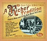 echange, troc A Richer Tradition - Country Blues & String Band Music