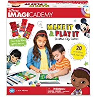 The Wonder Forge Disney Imagicademy Make It & Play It Board Game
