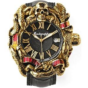 Montegrappa Chaos S. Stallone Watch Automatic - Gold & Enamel ETA 2824