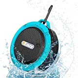 Wireless Portable Bluetooth Speaker Stereo, Elelink- Super Shockproof Waterproof Sport Outdoor Hi-fi Bass (Blue)