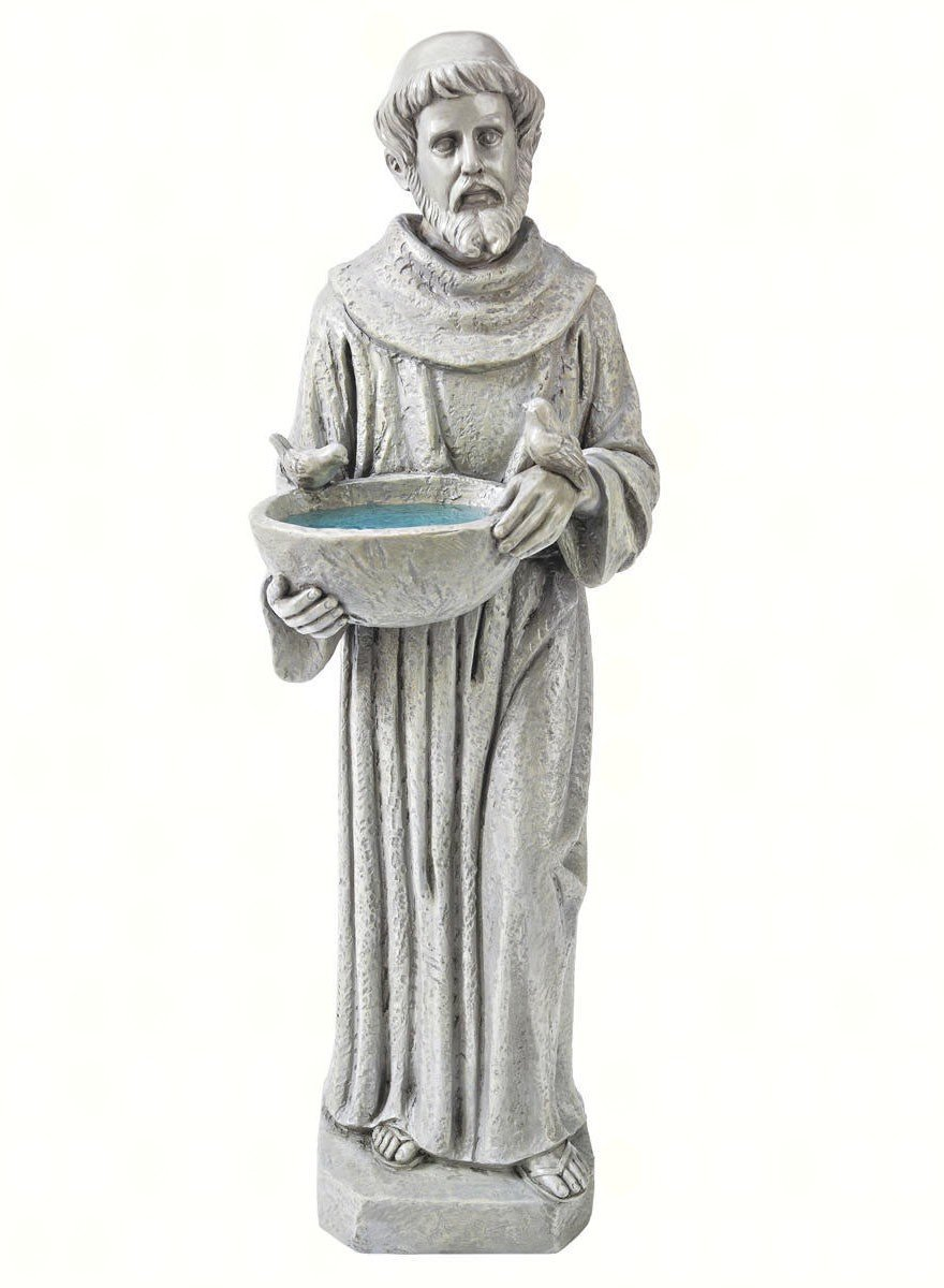 Design Toscano Natures Nurturer: St. Francis Statue