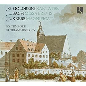 Goldberg, Bach &amp; Krebs: Kantaten, Missa Brevis &amp; Magnificat