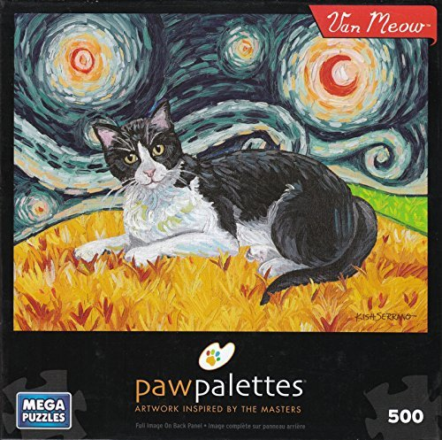 Van Meow 500 Piece Puzzle