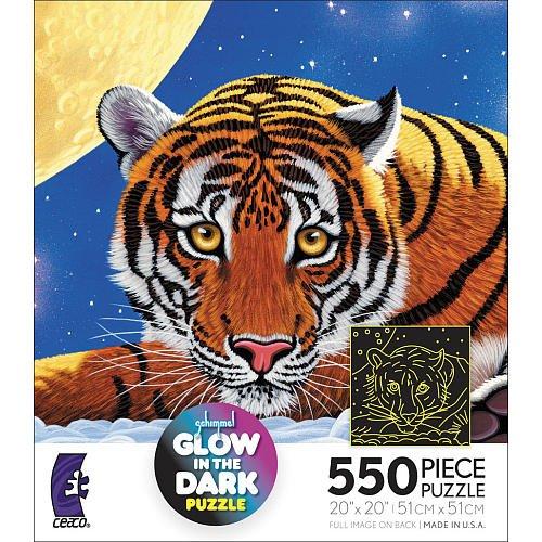 Schimmel Glow In The Dark 550 piece Puzzle