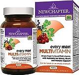 New Chapter Every Man , Men's Multivitamin Fermented with Probiotics + Selenium + B Vitamins + Vitamin D3 + Organic Non-GMO Ingredients - 120 ct