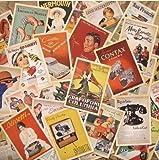 Mokeey 32 pcs Set Cartes Postales Vintage vieille Europe Affiches Voyage