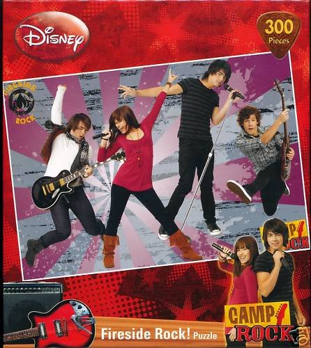 Camp Rock Fireside Rock Jigsaw Puzzle 300 pc - 1