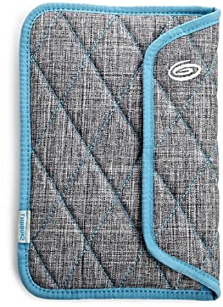 Timbuk2 Kindle Fire Plush Sleeve with Memory Foam for impact absorption, Grey/Blue (does not fit Kindle Fire HD)