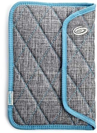 Timbuk2 Plush Sleeve mit stoßdämpfendem Memory Foam, Grau/Blau [nur geeignet für Kindle Fire (2. Generation), Kindle Keyboard (3. Generation)]