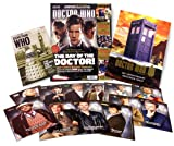 Doctor Who Magazine DOCTOR WHO MAGAZINE 467 50TH ANNIVERSARY ISSUE INCLUDES BONUS MAG + 12 ART CARDS